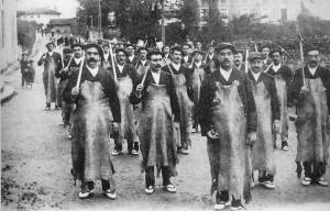 Escuadra de hacheros de 1903